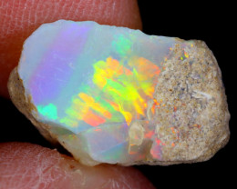 5cts Natural Ethiopian Welo Rough Opal / WR4423