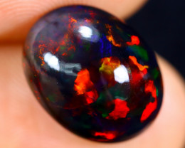 5.03cts Natural Ethiopian Welo Smoked Opal / HM1119