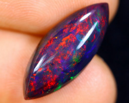 3.32cts Natural Ethiopian Welo Smoked Opal / HM1107