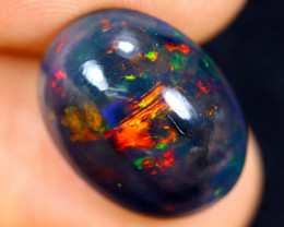 5.47cts Natural Ethiopian Welo Smoked Opal / HM1108
