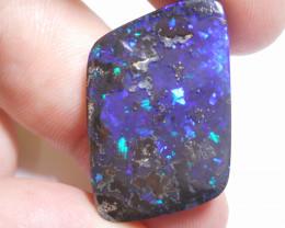 27ct Boulder Opal Polished Stone (B118)