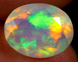 2.58cts Natural Ethiopian Faceted Welo Opal / NY163