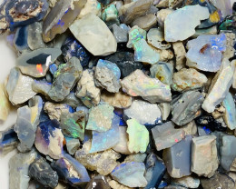 380 CTs Colourful Rough Seam Opals- Great Potential#1827