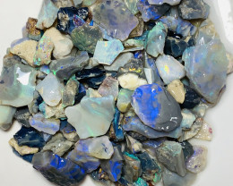 250 CTs Rough Seam Opals With Colour & Potential#1835