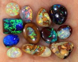 12pcs 10ct Yowah Boulder Opal Parcel [LOB-3616]