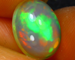 Welo Opal 1.90Ct Natural Ethiopian Play of Color Opal J2914/A28