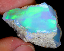 16cts Natural Ethiopian Welo Rough Opal / WR4522
