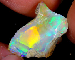 9cts Natural Ethiopian Welo Rough Opal / WR4529