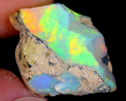 5cts Natural Ethiopian Welo Rough Opal / WR4532