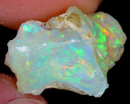 6cts Natural Ethiopian Welo Rough Opal / WR4540