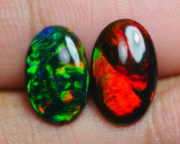 2.375 CRT 2 PCS PAIR BEAUTY PARCEL WELO OPAL SMOCKED -