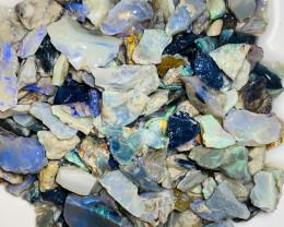 240 CTs Multicolour Potential Rough Seam Opals#1842