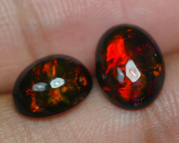 3.370 CRT 2 PCS PAIR BEAUTY PARCEL WELO OPAL SMOKED -