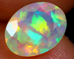 1.45cts Natural Ethiopian Faceted Welo Opal / HM1154