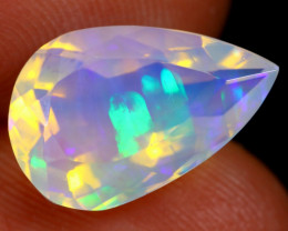 2.97cts Natural Ethiopian Faceted Welo Opal / NY174