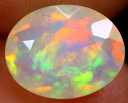 1.97cts Natural Ethiopian Faceted Welo Opal / NY203