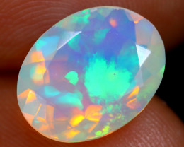 2.33cts Natural Ethiopian Faceted Welo Opal / NY207