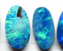 Free Form 4 Stone Australian Doublet Opal Parcel