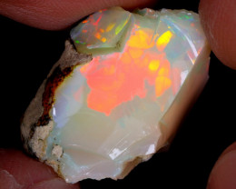 17cts Natural Ethiopian Welo Rough Opal / WR4541