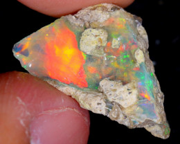 6cts Natural Ethiopian Welo Rough Opal / WR4556