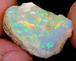 8cts Natural Ethiopian Welo Rough Opal / WR4558
