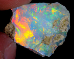 9cts Natural Ethiopian Welo Rough Opal / WR4568