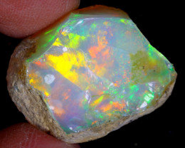 17cts Natural Ethiopian Welo Rough Opal / WR4611