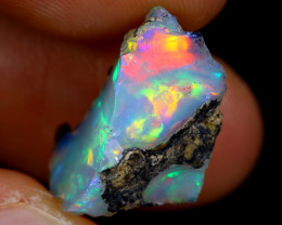8cts Natural Ethiopian Welo Rough Opal / WR4645