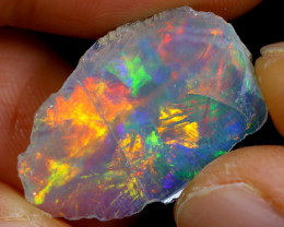 5cts Natural Ethiopian Welo Rough Opal / WR4648