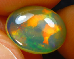 Welo Opal 1.14Ct Natural Ethiopian Play of Color Opal J3102/A28