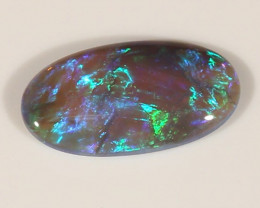 4.35ct BLACK OPAL LIGHTNING RIDGE