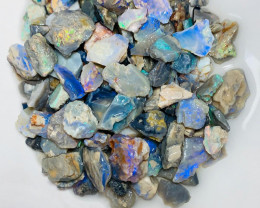 Colourful Potential Rough Seam Opals - Plenty of Colours