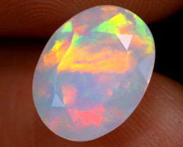 2.35cts Natural Ethiopian Faceted Welo Opal / NY215