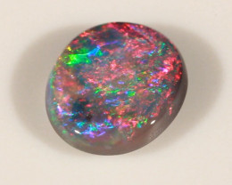 0.73ct BLACK OPAL LIGHTNING RIDGE