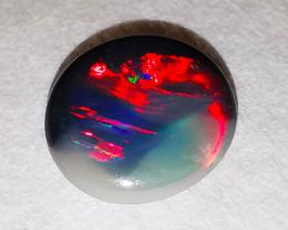 Lightning Ridge Australia - Solid Black Opal - 0.71 cts