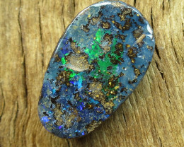 14cts, DRILLED BOULDER OPAL~MINER 2U DIRECT!