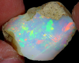11cts Natural Ethiopian Welo Rough Opal / WR4742