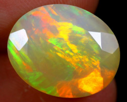 5.09cts Natural Ethiopian Faceted Welo Opal / NY281