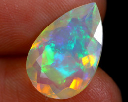 3.84cts Natural Ethiopian Faceted Welo Opal / NY288