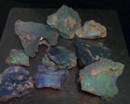Virgin material! 230ct Lightning Ridge opal rough gamble