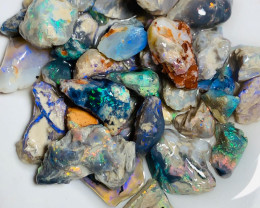 Bright & Colourful Rough Nobby Opals with Good Potential to Gamble