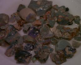 380ct Lightning Ridge Black/dark opal rough parcel, Virgin material!!