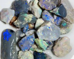 Nobby- 110 CTs of Colourful High Potential Rough Nobby Opals#1917