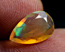 0.90 Carat never seen before Phenomenal Flashy Full Fire Faceted Opal