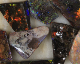 NO RESERVE!! #2  -  Andamooka Matrix Opal Rough [29919] 53FROGS