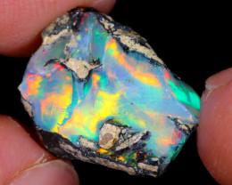 6cts Natural Ethiopian Welo Rough Opal / WR4844