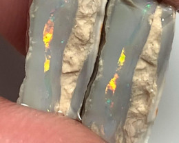 Multicolour Seam Split with a Bright Consistent Colour Bar