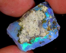 13cts Natural Ethiopian Welo Rough Opal / WR4894