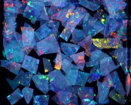 2.00 CTS  GEM THIN CRYSTAL SLICES PARCEL .IDEAL MOSAIC -[MS8033]