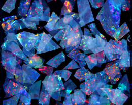 2.00 CTS  GEM THIN CRYSTAL SLICES PARCEL .IDEAL MOSAIC -[MS8034]